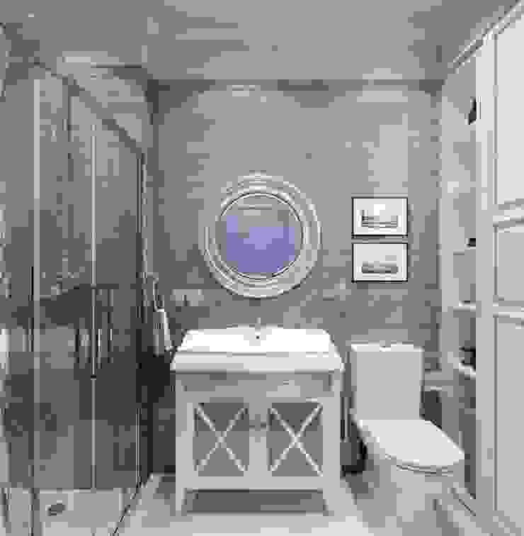 Давыдковская, Москва Ванная в классическом стиле от Massimos / cтудия дизайна интерьера Классический