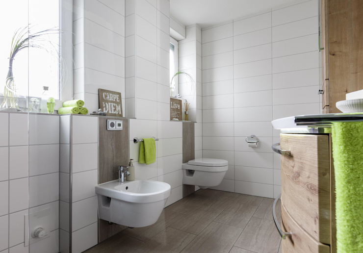 Eclectic style bathroom by Gebr. Gröger OHG Eclectic