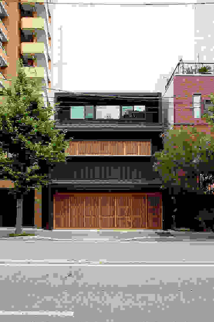 Casas de estilo asiático de Hiromu Nakanishi Architects Asiático