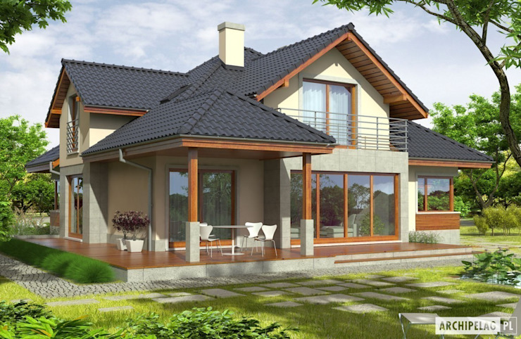Case moderne di Pracownia Projektowa ARCHIPELAG Moderno