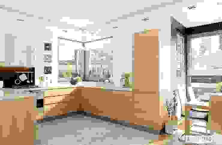 Modern style kitchen by Pracownia Projektowa ARCHIPELAG Modern