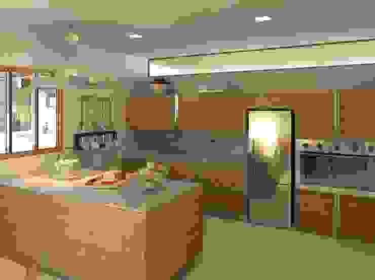 Cozinha com ilha Cozinhas modernas por Patrícia Alvarenga Moderno