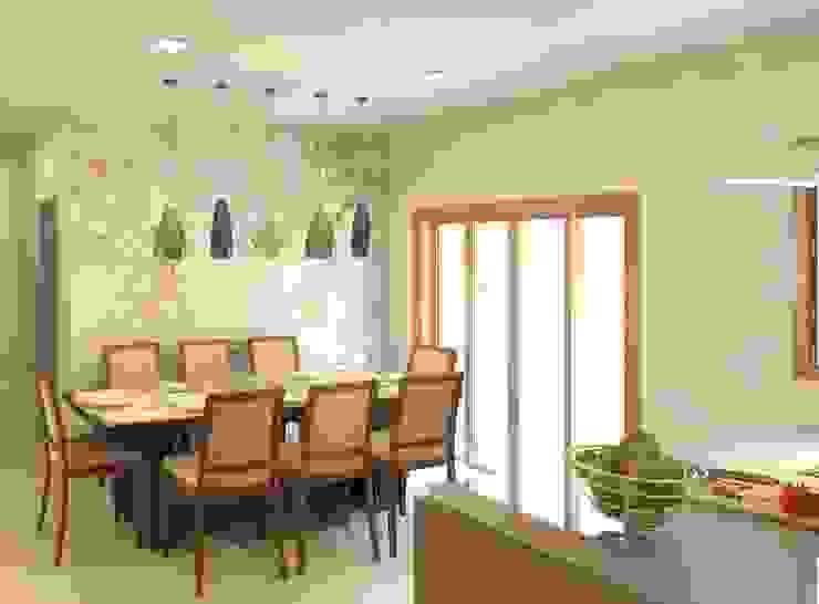 Cozinha e copa integradas Salas de jantar modernas por Patrícia Alvarenga Moderno