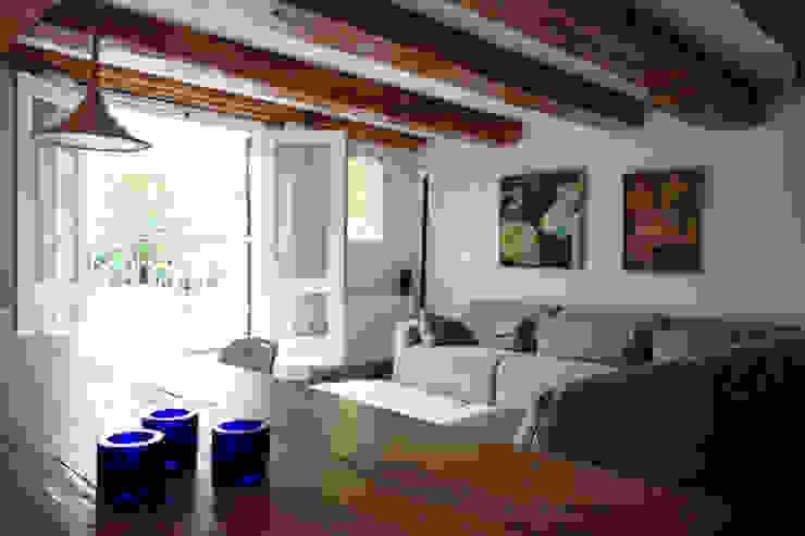 Loft Amsterdam Minimalistische woonkamers van De Ontwerpdivisie Minimalistisch