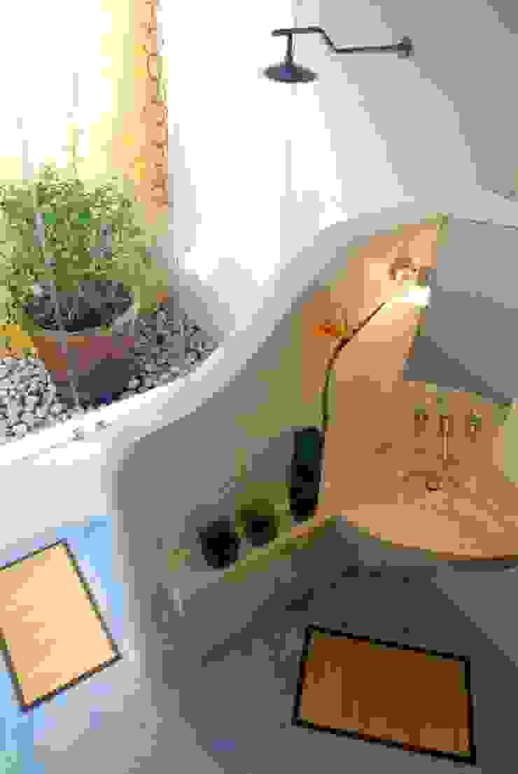 Baño Principal Baños eclécticos de Taller Estilo Arquitectura Ecléctico