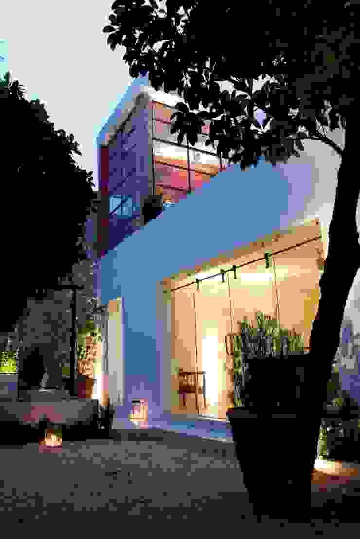 Patio Casas eclécticas de Taller Estilo Arquitectura Ecléctico