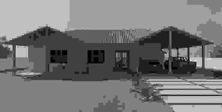 Fachada Casas modernas por Patrícia Alvarenga Moderno