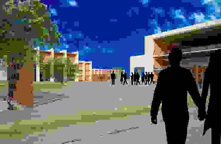 Centro Comunitario La Florida Gimnasios domésticos modernos de Breka Diseño + Construcción Moderno