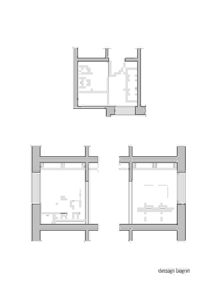 Dettagli bagno padronale di Lorenzo Rossi | Architetto Moderno