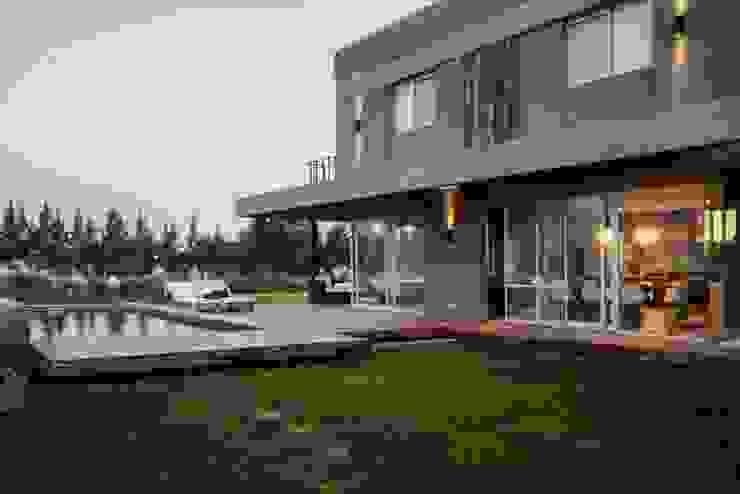 現代房屋設計點子、靈感 & 圖片 根據 FAARQ - Facundo Arana Arquitecto & asoc. 現代風