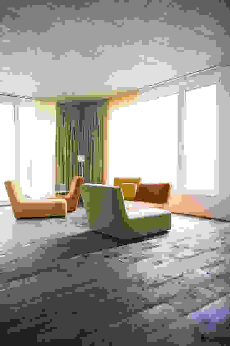idA buehrer wuest architekten sia ag Modern Living Room