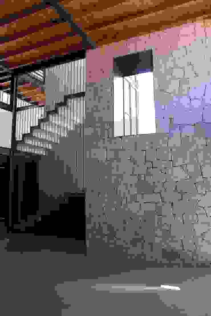 Hành lang, sảnh & cầu thang phong cách hiện đại bởi Taller Habitat Arquitectos Hiện đại