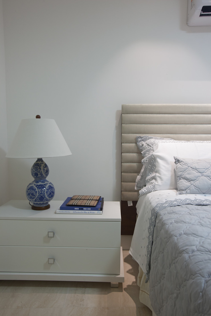 Projeto Quartos minimalistas por Leonardo Maia Arquitetos Minimalista
