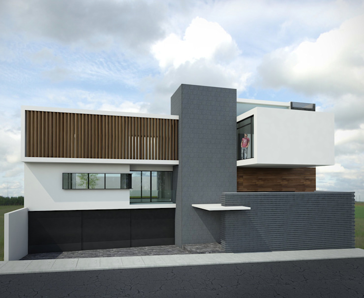 Casa FERRO Casas modernas de Taller Habitat Arquitectos Moderno