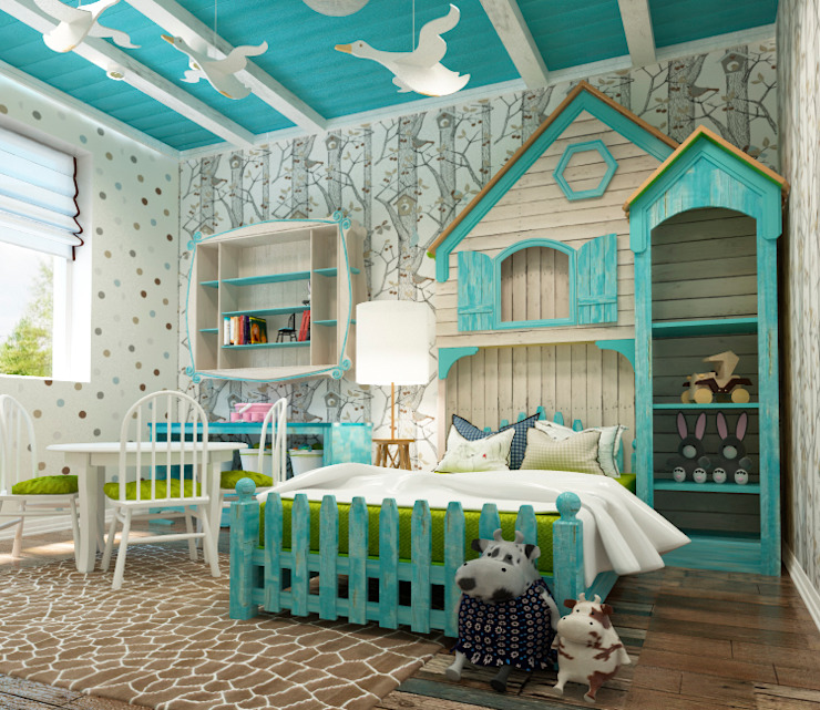 Sweet Hoome Interiors Modern nursery/kids room