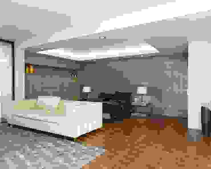 Casa FERRO Dormitorios modernos de Taller Habitat Arquitectos Moderno