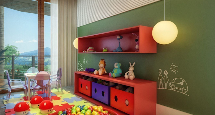 Nursery/kid's room by SESSO & DALANEZI,