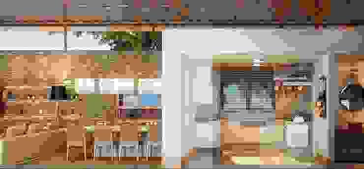 Residência Itatiba Cozinhas modernas por SESSO & DALANEZI Moderno