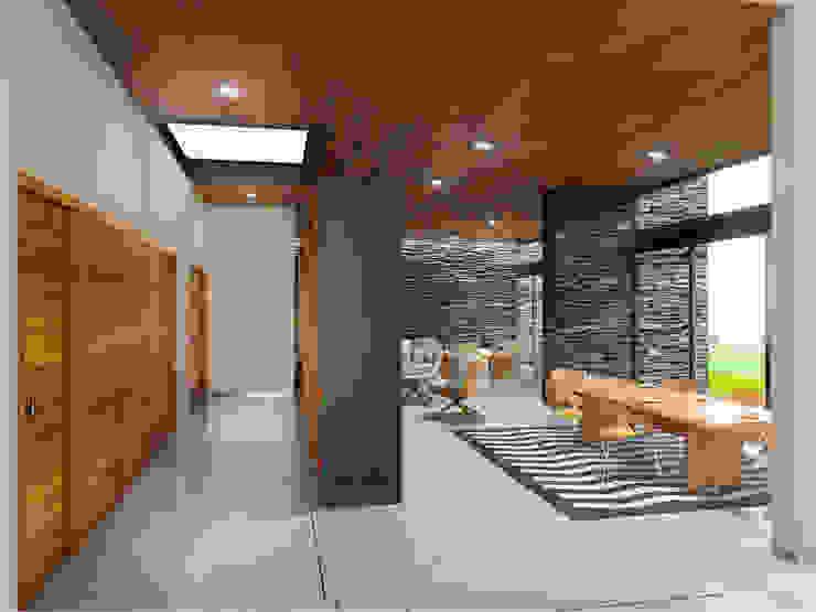 Casa EF Comedores modernos de Taller Habitat Arquitectos Moderno