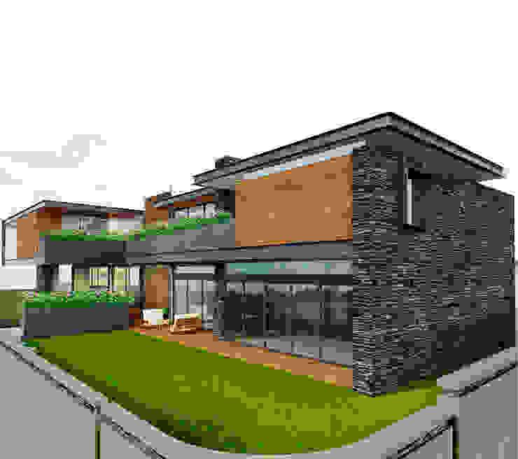 Casa EF Casas modernas de Taller Habitat Arquitectos Moderno