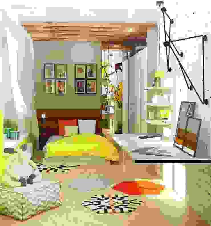 Детская комната Детская комната в стиле лофт от Мозжерина Марина Лофт