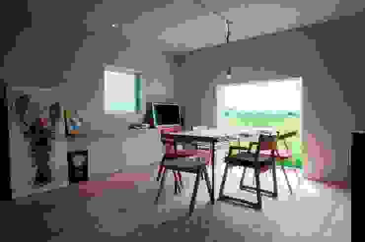 一級建築士事務所ヨネダ設計舎 Eclectic style dining room