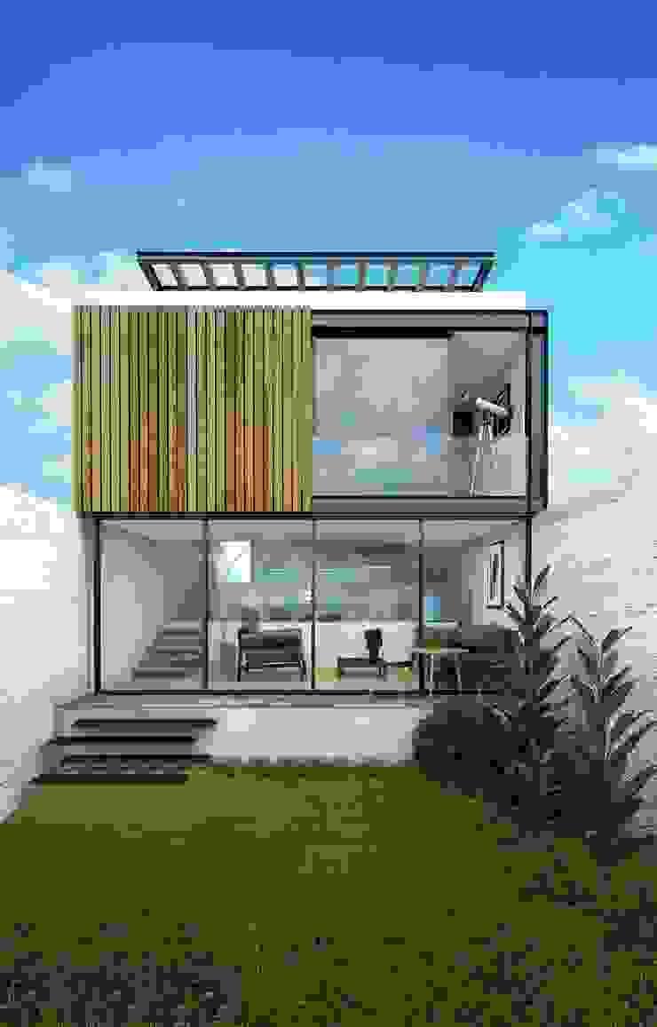Casa Tepetate Casas modernas de Taller Habitat Arquitectos Moderno