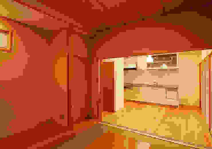 温品の家 和風デザインの ダイニング の エルイーオー設計室 和風