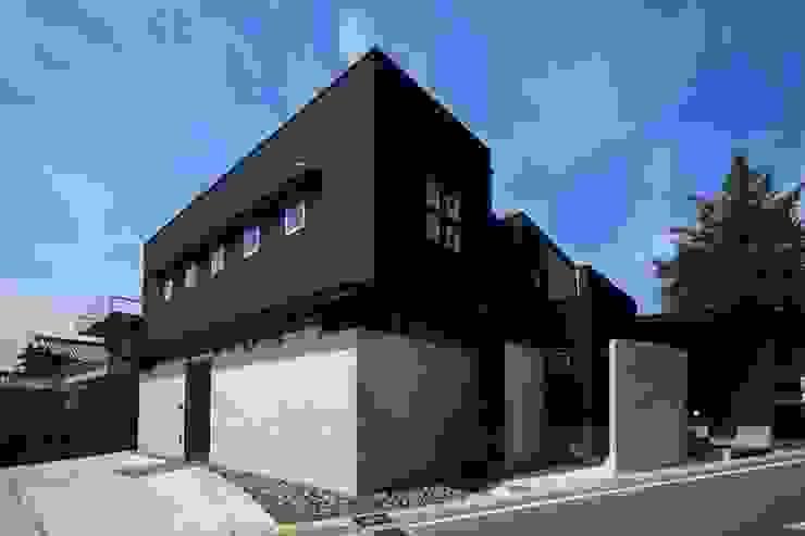 東北外観: MA設計室が手掛けた家です。,モダン