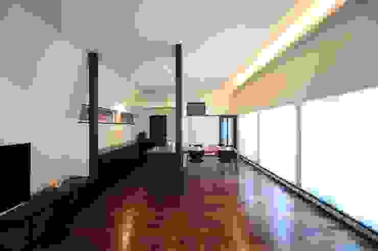 リビング~ダイニング~キッチン: MA設計室が手掛けたリビングです。,モダン