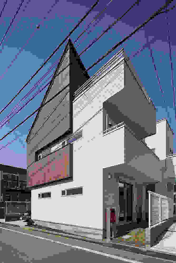 中野の家 オリジナルな 家 の 有限会社タクト設計事務所 オリジナル