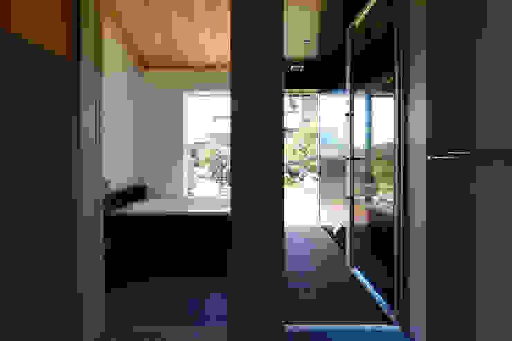 「林の中に住む。」 オリジナルスタイルの お風呂 の 丸山晴之建築事務所 オリジナル