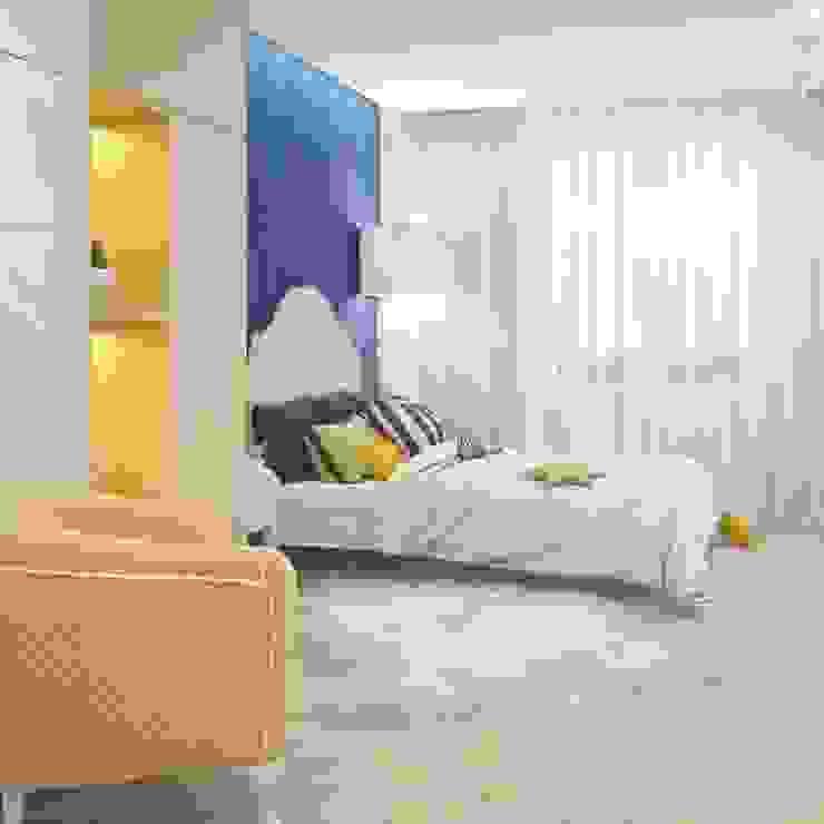 Синяя зебра Детские комната в эклектичном стиле от E_interior Эклектичный