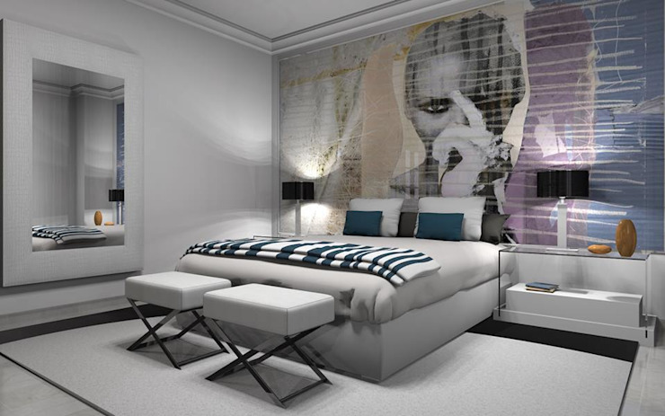 Modern Bedroom by AZD Diseño Interior Modern