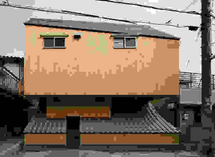 外観 オリジナルな 家 の 一級建築士事務所 東島鋭建築設計工房 オリジナル