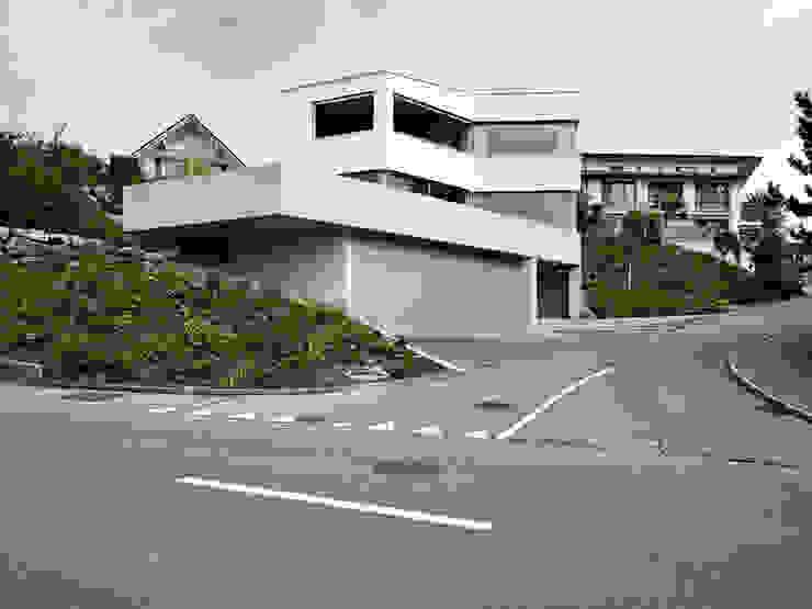 Ansicht Süd Moderne Häuser von idA buehrer wuest architekten sia ag Modern