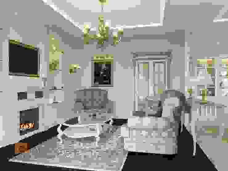Living room by Студия Павла Полынова, Classic