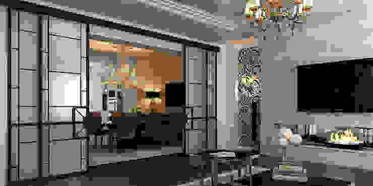 Квартира Гостиная в классическом стиле от ID ARCHITECTS Классический