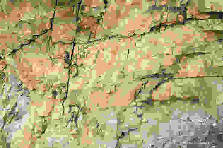 Peloponessos rots Moderne tuinen van Aardse Kunst Modern
