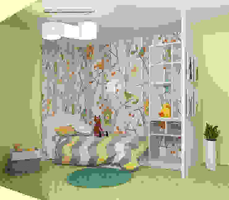 Chambre d'enfant originale par Мозжерина Марина Éclectique