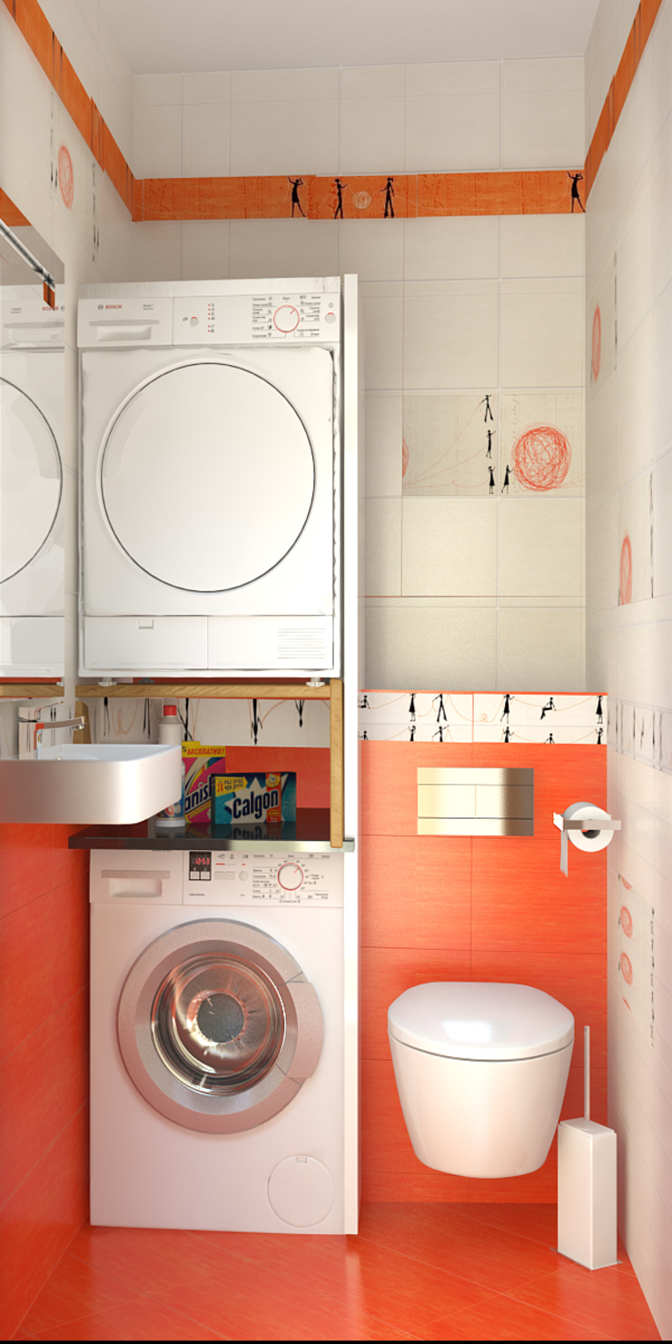 Мозжерина Марина ห้องน้ำ