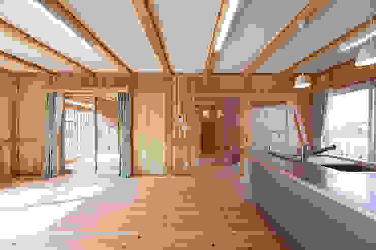 石井の住宅 オリジナルデザインの ダイニング の 中飯賀業建築研究所 オリジナル