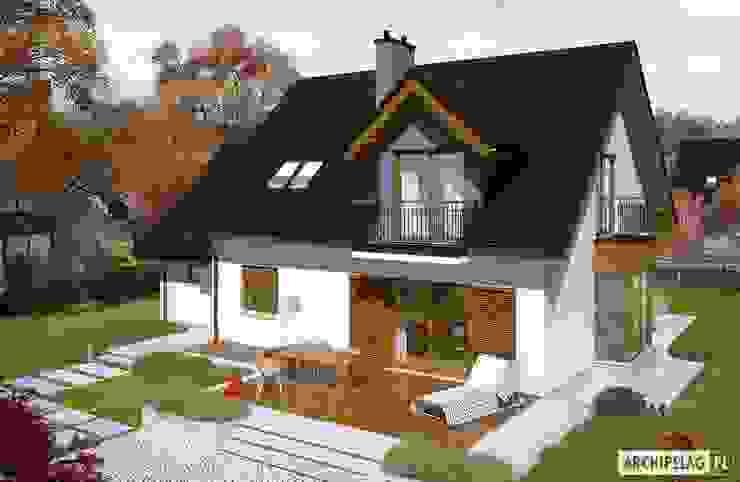 Moderne Häuser von Pracownia Projektowa ARCHIPELAG Modern