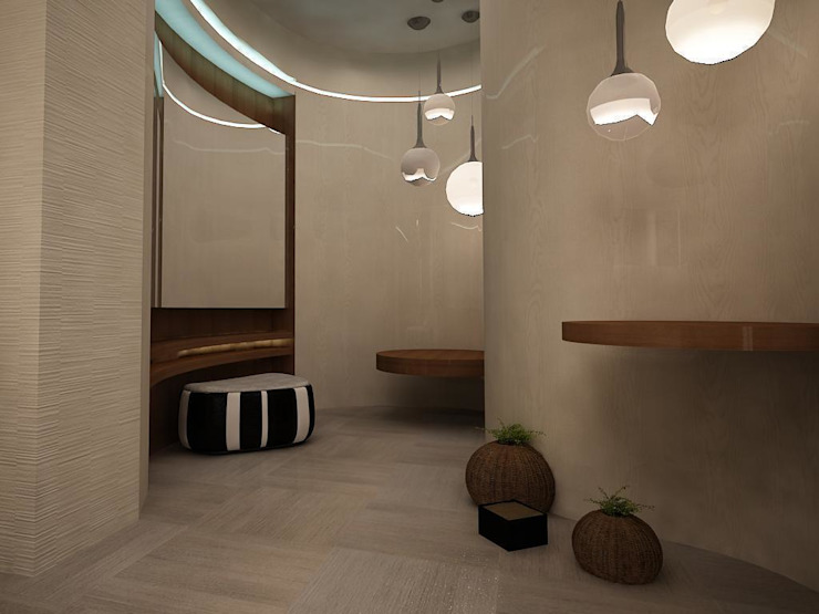 Villa teknogrup design Chambre minimaliste