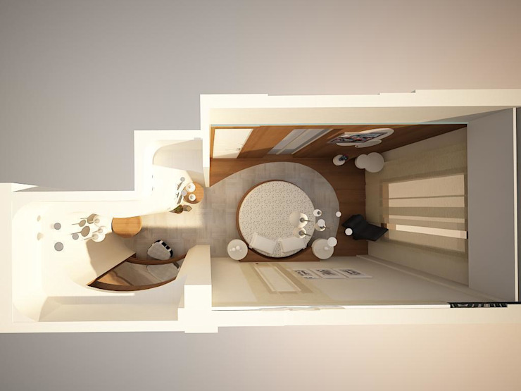 villa Minimalist Yatak Odası teknogrup design Minimalist