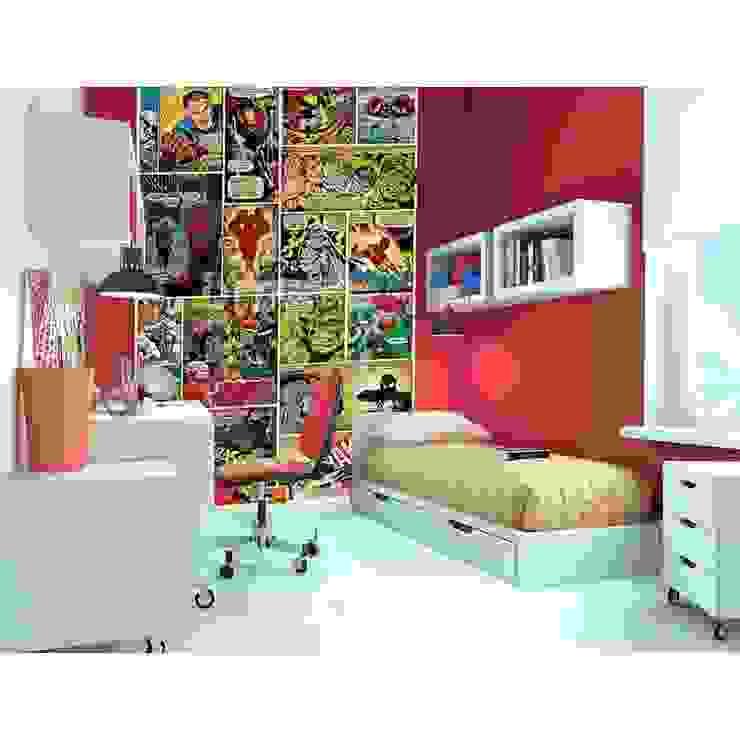 1Wall Marvel Comic Strip Wall Deco Wallpaper Mural View Product de Home Flair Decor Clásico