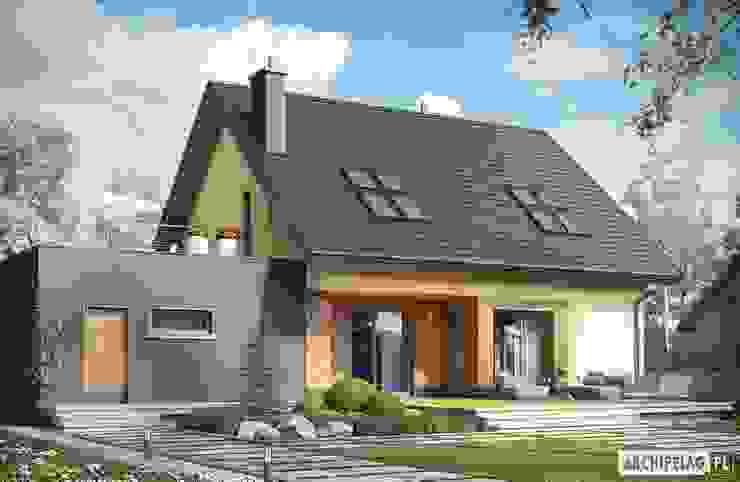 Дома в стиле модерн от Pracownia Projektowa ARCHIPELAG Модерн
