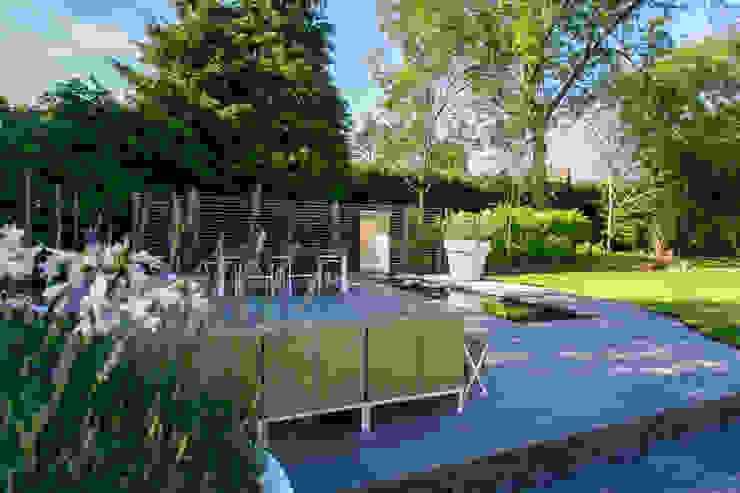 Patio Modern garden by Barnes Walker Ltd Modern