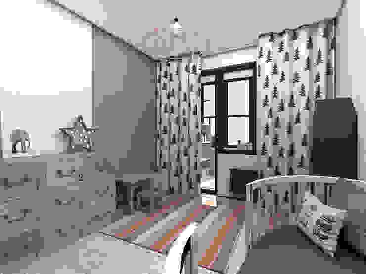 Dormitorios infantiles industriales de ИНТЕРЬЕР-ПРОЕКТ.РУ Industrial