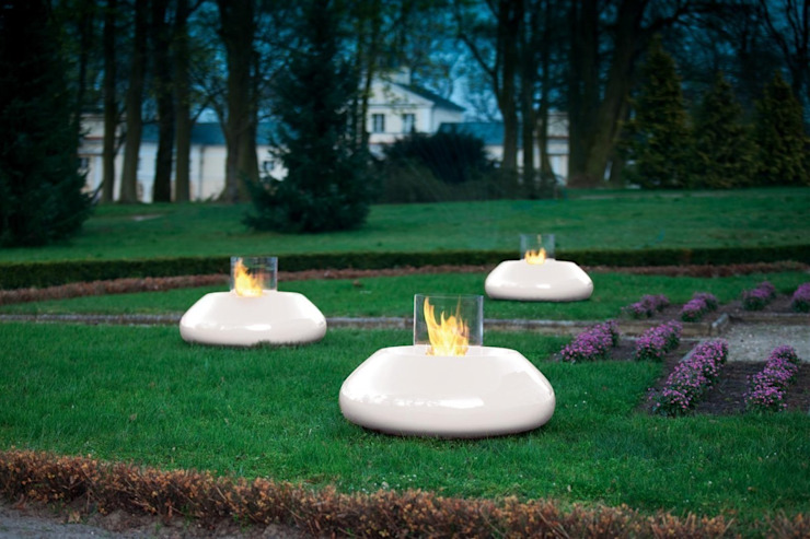 Bubble Commerce Bio Fire Urban Icon Garden Fire pits & barbecues